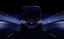 Ford visar ny, uppkopplad el-version av Ford Transit på transportbilsmässan i Hannover