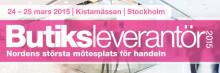 SafeTeam på Butiksleverantörsmässan i Stockholm, 24-25 mars