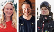 Tre unga ledare på snö prisas med 30 000 kronor vardera