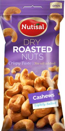 Återkallelse av Nutisal Cashews Lightly Salted 60 gram – fel språk på förpackningen