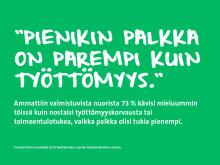 Pohjoisen nuorilta tarvitaan oma-aloitteisuutta työnhaussa