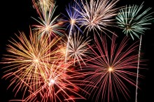Firework displays to light up the borough