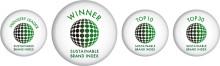 Prisutdelning i Sustainable Brand Index™ 2015