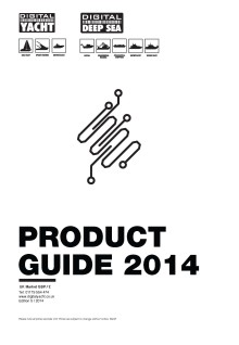 New Digital Yacht UK Product Guide & Price List