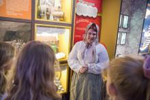 Påskpremiär för ny familjevisning i Gruvmuseet