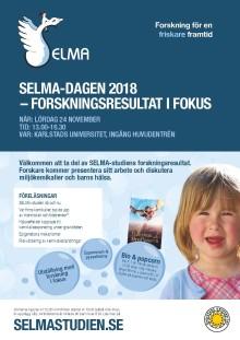 Pressinbjudan: SELMA-dagen 2018 – med forskningen i fokus