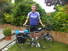 Cyclist takes on 1,100 mile challenge for Stroke Association in memory of his father