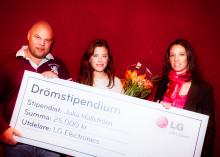 LG:s Drömstipendiat 2011:  Julia Hallström brinner för de äldre