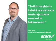 Tomi Hussi: Hyvästä tutkimusyhteistyöstä virtaa käytännön tekemiseen