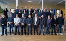 29 nye maskinmestre klar fra MARTEC