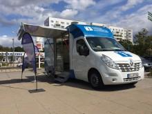 Beratungsmobil der Unabhängigen Patientenberatung kommt am 17. Juli nach Schwedt (Oder).