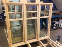 2+1-glas kopplade fönster, ett nytt kulturfönster med mycket god isolering. Ett helt nytt fönster lanseras.