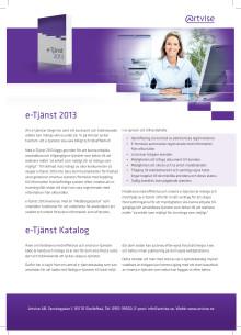 Artvise e-Tjänst