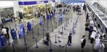 Stor flygplats säkerställer bra luftkonditionering med fläktvägg