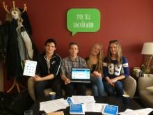 Succé i repris - Ungdomar lär äldre hur Norrtälje kommuns  webbplats fungerar