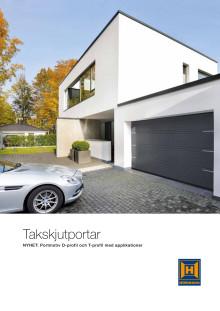 Takskjutportar för garage - högre komfort och säkerhet varje dag