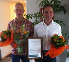 Innovatören bakom klickväggen utsedd till Örebro läns stipendiat av SKAPA Utvecklingsstipendium
