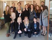 Nka på ERASMUS-projektmöte i Aten