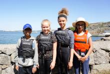 Vind i seglen för Lövgärdets ungdomar