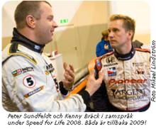 Kenny Bräck drar runt på Motormässan i Malmö