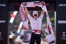 Jesper Svensson vann Ironman Barcelona efter ett rysarlopp
