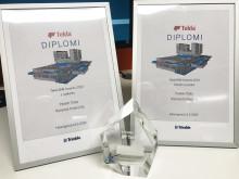 BIM Tekla Awards 2019 -kilpailun voitto Pasilan Triplalle