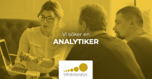 Vi söker en analytiker till avdelningen Innovation och grön omställning