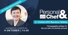 Fördomsfria rekryteringstrender och intervjuroboten Tengai på Personal & Chef 2019