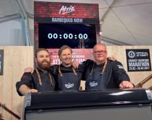 Grillauksen Guinness World Records -ennätys Suomeen