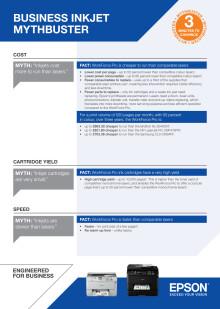 Mythbuster - business inkjet vs laser printers