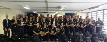 Brasiliansk polis utbildadas av Scientologer