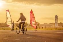 Berlin fra sykkelsetet