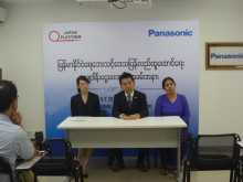 Panasonic establishes flood relief and steps up education efforts in Myanmar