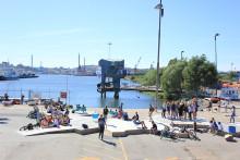 Pressinbjudan 22 september, Göteborgs Stadstriennal på Bokmässan: Så kan Jubileumsparken i Frihamnen växa fram till 2021