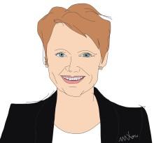 Anna-Karin Hatt talar på EdTech Sweden