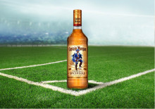 Bra spelat, Wes! Captain Morgan hyllar Captain Morgan