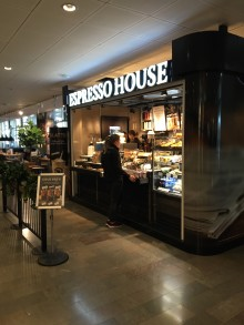 Espresso House öppnar Coffee Shop på Arlanda