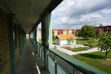 Balcos unika loftgångsinglasning – nu inflyttningsklart i Götene