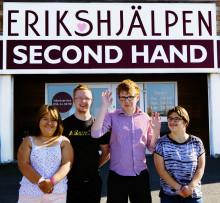 Turné för allas rätt till skola, Come Together till Erikshjälpen Second Hand!