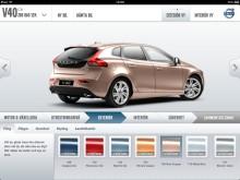 Bygg din Volvo med fingertoppskänsla