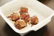 Månadens recept juli - Baconlindad potatis