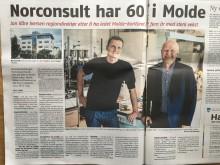 Norconsult i Molde: Moldekonsulenter med real opptur