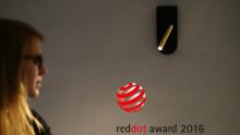 Sänglampa vinner reddot award 2016