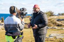 "TV-programmet ""Fiskedestination"" visar upp Sölvesborg"