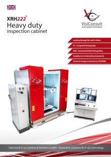 XRH222 TL - Heavy duty X-ray inspection cabinet