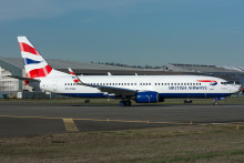 BRITISH AIRWAYS (OPERATED BY COMAIR) READY TO SERVE THE SAINTS