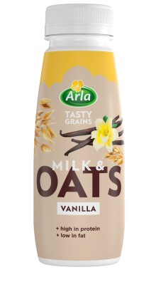 Arla brings benefits of dairy to the soft drinks category with launch of new Milk & Oats range