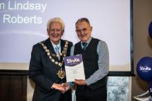 Bournemouth stroke survivor receives regional recognition
