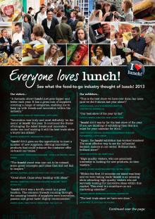 lunch! 2013 Testimonials