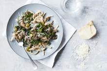 Recept på pasta bianco bolognese